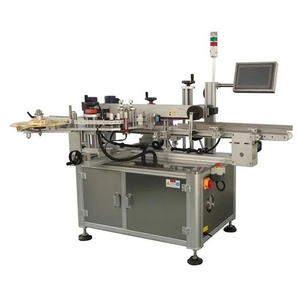 Machine d'étiquetage automatique de coin de boîte de carton