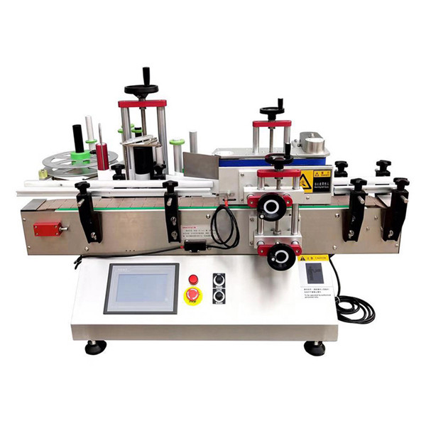 Machine d'étiquetage automatique de bouteilles de table
