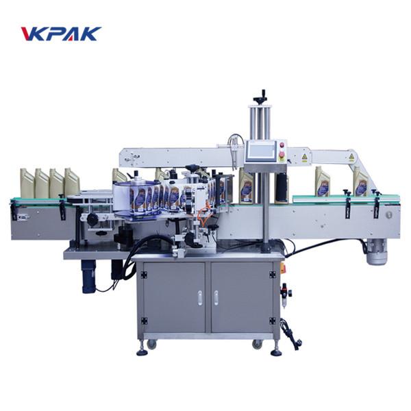 Machine d'étiquetage recto verso automatique avant et arrière